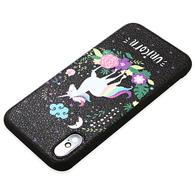 Plus iPhone iPhone Per retro animati iPhone Cartoni 8 06756705 8 Per Morbido Custodia Unicorno X X TPU Ultra iPhone sottile per iPhone 8 Apple EIqcRw84