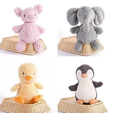 البطريق فيل دجاج حيوانات محشية الحيوانات جميل محبوب أكريليك / قطن فتيات ألعاب هدية 1 pcs