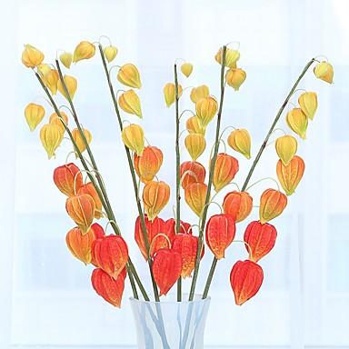 زهور اصطناعية 1 فرع كلاسيكي فردي أسلوب بسيط النمط الرعوي فاكهة الزهور الخالدة أزهار الطاولة