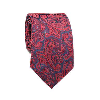 ربطة العنق ورد / ألوان متناوبة / زخرفات رجالي عمل / أساسي