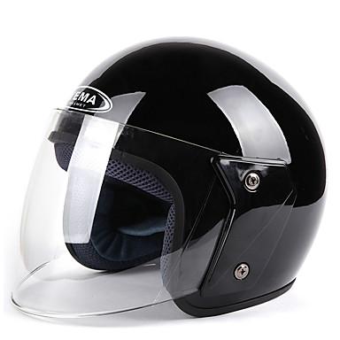 YEMA 607 نصف خوذة بالغين للجنسين دراجة نارية خوذة ضد الصدمات / ضد UV / ضد الهواء