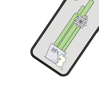 Per Piante iPhone Plus Per decorativo 8 iPhone Custodia Fiore Gatto retro iPhone Apple disegno Resistente 06749366 Plus 8 8 X iPhone Fantasia iPhone per X Acrilico PwqBzdEq