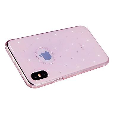Glitterato Morbido Per iPhone Apple 8 per 06747997 retro Per Plus X TPU diamantini iPhone 8 8 iPhone Custodia Con X iPhone iPhone 8vwF66xPq