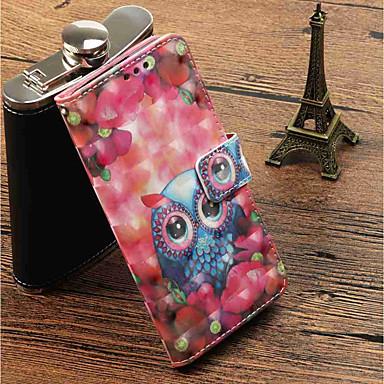 غطاء من أجل Huawei P20 Pro / P20 lite محفظة / حامل البطاقات / مع حامل غطاء كامل للجسم بوم قاسي جلد PU إلى Huawei P20 / Huawei P20 Pro / Huawei P20 lite