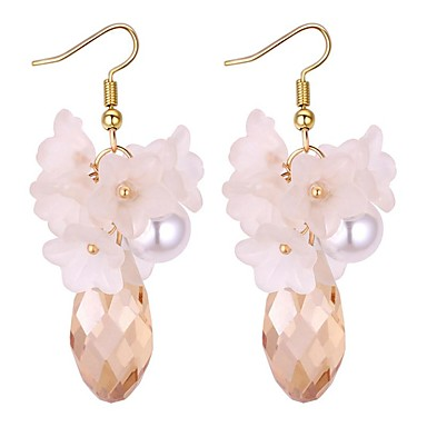 Clip Earrings Cute Antlers Clip Earring For Women With White Imitation Pearl Ear Clip Jewelry Rapid Heat Dissipation Jewelry & Accessories