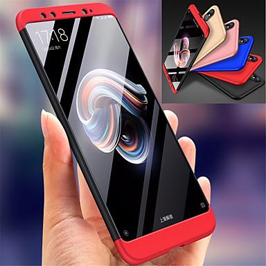 غطاء من أجل Xiaomi Xiaomi Mi 6X(Mi A2) ضد الصدمات غطاء كامل للجسم لون سادة قاسي الكمبيوتر الشخصي