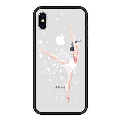 iPhone X 8 Acrilico Custodia disegno Cartoni Plus iPhone 8 per iPhone retro iPhone 8 iPhone Sexy animati Plus Apple Resistente Fantasia 06749882 X Per Per xttqX4TF