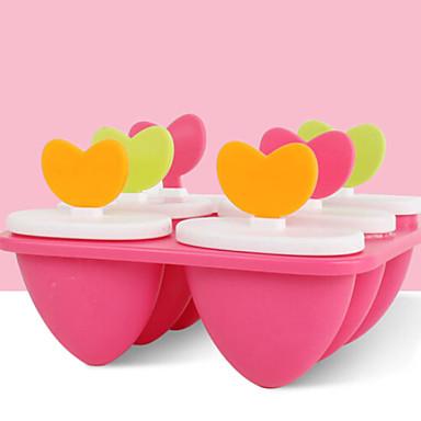 1PC هلام السيليكون جميل تصميم جديد خلاق جليد تبرعم مستطيل أدوات حلوى أدوات خبز