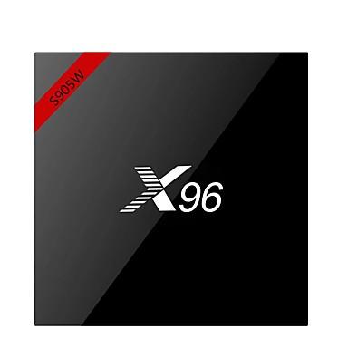 お買い得  AV用アクセサリー-X96W TV Box Android7.1.1 TV Box Amlogic S905W 1GB RAM 8GB ROM ペンタコア