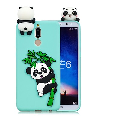 voordelige Huawei Mate hoesjes / covers-hoesje Voor Huawei Mate 10 / Mate 10 lite DHZ Achterkant Panda Zacht TPU