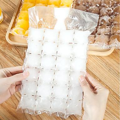 10 قطع 240 مكعب حقيبة الجليد صانع كيس الثلج حقن المياه الباردة