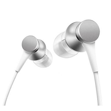 Xiaomi في الاذن كابل Headphones سماعة Aluminum Alloy الهاتف المحمول سماعة مع ميكريفون سماعة