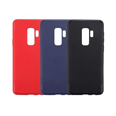 غطاء من أجل Samsung Galaxy S9 / S9 Plus / S8 Plus نحيف جداً غطاء خلفي لون سادة ناعم TPU