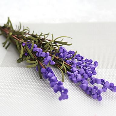 زهور اصطناعية 1 فرع كلاسيكي الحديث المعاصر أسلوب بسيط أزرق فاتح أزهار الطاولة