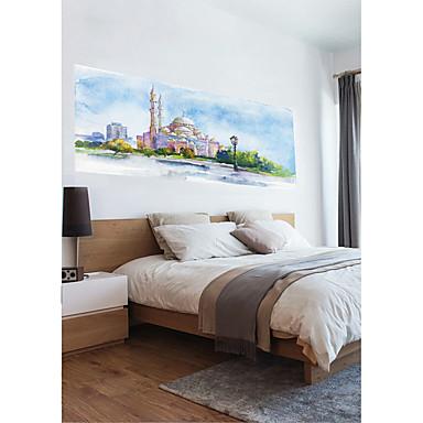 لواصق حائط مزخرفة - لواصق مناظر طبيعية / ديني غرفة النوم / غرفة الأطفال