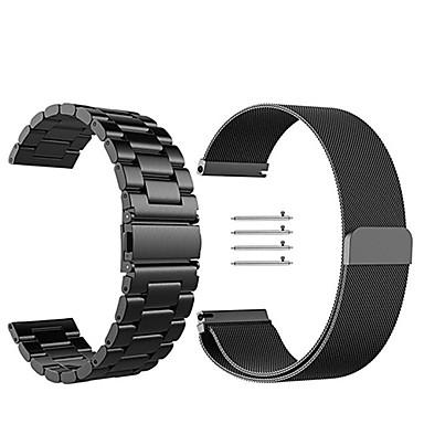 voordelige Horlogebandjes voor Samsung-Horlogeband voor Gear S3 Frontier / Gear S3 Classic Samsung Galaxy Milanese lus Roestvrij staal Polsband
