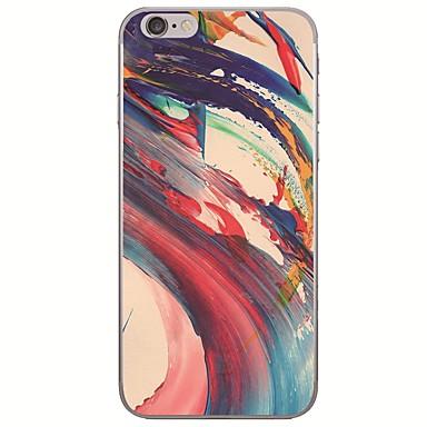 voordelige iPhone 7 hoesjes-hoesje Voor Apple iPhone X / iPhone 8 Plus / iPhone 8 Ultradun / Patroon Achterkant Landschap / Olieverfschilderij Zacht TPU