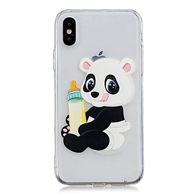 iPhone Custodia 8 Per Apple Morbido disegno Per X iPhone TPU 06812253 iPhone Panda iPhone Plus 8 iPhone retro per Fantasia 8 X Plus prfpEqWw