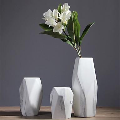 زهور اصطناعية 0 فرع كلاسيكي أنيق أوروبي المزهرية أزهار الطاولة / واحدة زهرية