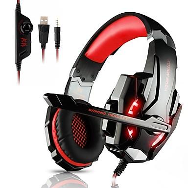voordelige Gaming-oordopjes-KOTION EACH G9000 Gaming Headset Bekabeld Gaming met microfoon