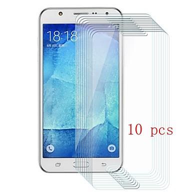 Samsung GalaxyScreen ProtectorJ5 9Hقسوة حامي شاشة أمامي 10قطع زجاج مقسي