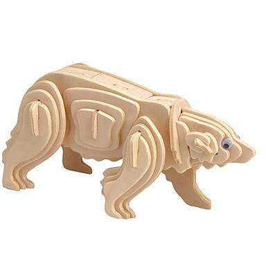 تركيب خشبي / ألعاب المنطق و التركيب الدب القطبي مدرسة / المستوى المهني / التوتر والقلق الإغاثة خشبي 1 pcs للأطفال / في سن المراهقة الجميع هدية