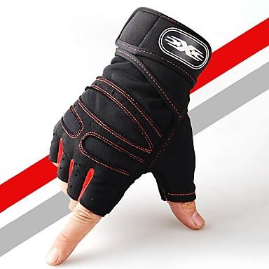 قفازات / قفازات التمرين / قفازات تمرين الملاكمة إلى قفازات النشاط والرياضة مكافحةالتزلج / ناعم / الملاكمة تريكو 1SET أزرق داكن / أحمر / أزرق فاتح