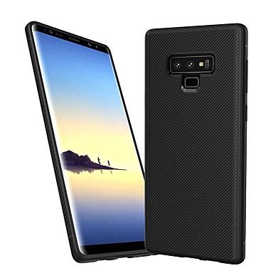 voordelige Galaxy Note-serie hoesjes / covers-Lenuo hoesje Voor Samsung Galaxy Note 9 Schokbestendig / Reliëfopdruk Achterkant Lijnen / golven Zacht TPU voor Note 9