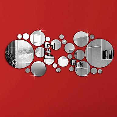 لواصق حائط مزخرفة - ملصقات الحائط على المرآة أشكال غرفة الجلوس / غرفة النوم / دورة المياه