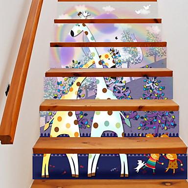 ملصقات الكلمة - لواصق حائط الطائرة الأزهار / النباتية غرفة الجلوس / غرفة الأطفال