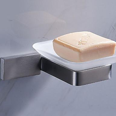 أطباق الصابون وشمعدانات تصميم جديد / كوول معاصر الفولاذ المقاوم للصدأ / الحديد 1PC مثبت على الحائط