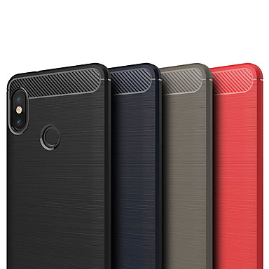 ASLING غطاء من أجل Xiaomi Redmi Note 5 Pro مثلج غطاء خلفي لون سادة ناعم TPU إلى Xiaomi Redmi Note 5 Pro / Xiaomi Redmi Note 5