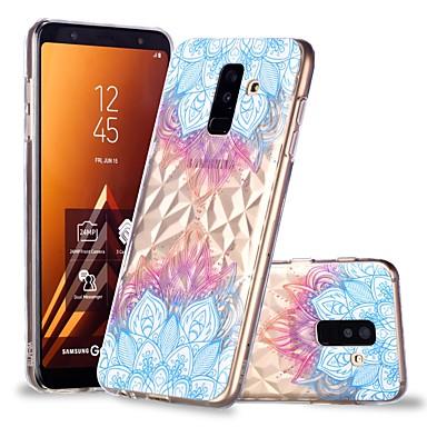 غطاء من أجل Samsung Galaxy A6 (2018) / A6+ (2018) / A8 2018 شفاف / نموذج غطاء خلفي ماندالا نمط ناعم TPU