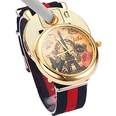رجالي ساعة المعصم ياباني كوارتز المتضخم أزرق / أحمر / أخضر الكرونوغراف تصميم جديد كوول مماثل سوار موضة - ذهبي أخضر أزرق سنتان عمر البطارية / طرد كبير