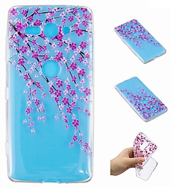 غطاء من أجل Sony Xperia XZ2 Compact / Xperia L2 شفاف / نموذج غطاء خلفي زهور ناعم TPU إلى Xperia XA2 Ultra / Xperia XA2