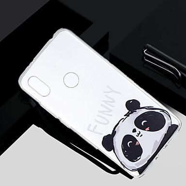 غطاء من أجل Xiaomi Redmi Note 5A / Xiaomi Redmi Note 4X / Xiaomi Redmi Note 4 شفاف / شبه شفّاف / نموذج غطاء خلفي باندا ناعم TPU / Xiaomi Redmi 4A