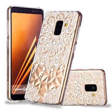 غطاء من أجل Samsung Galaxy A6 (2018) / A6+ (2018) / A8 2018 نموذج غطاء خلفي ماندالا نمط ناعم TPU