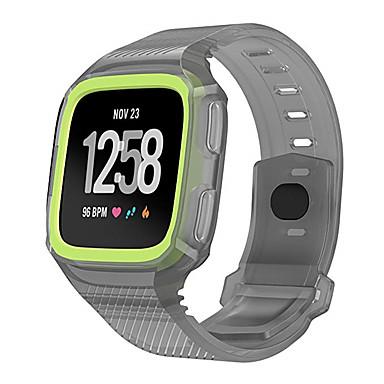 حزام إلى Fitbit Versa فيتبيت عصابة الرياضة سيليكون شريط المعصم