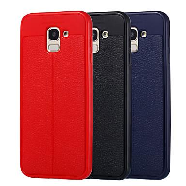 غطاء من أجل Samsung Galaxy J7 Duo / J6 ضد الصدمات / ضد الغبار غطاء كامل للجسم لون سادة ناعم TPU إلى J8 / J7 Duo / J7 Prime