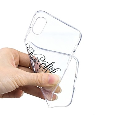 iPhone Apple iPhone Transparente disegno Per per Per iPhone Frasi famose 06878752 8 Plus Fantasia 8 Custodia X iPhone 8 retro TPU Ultra Plus X Morbido sottile iPhone Eq1P5Uzxw