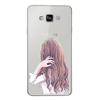 غطاء من أجل Samsung Galaxy A5 (2017) / A7 (2017) / A7(2016) نموذج غطاء خلفي امرآة مثيرة ناعم TPU