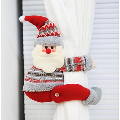 ستارة الاكسسوارات ربطة الخلف عيد الميلاد 1 pcs