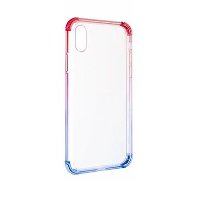 Resistente Resistente 8 Apple Colore iPhone 06916287 urti graduale iPhone X iPhone sfumato Per Acrilico e iPhone 8 X agli 8 retro Custodia per Per iPhone Plus XZxwqY5