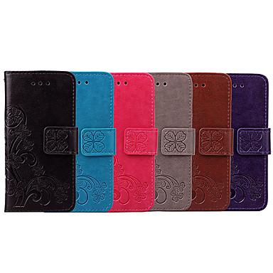 voordelige Galaxy S-serie hoesjes / covers-hoesje Voor Samsung Galaxy S8 Plus Kaarthouder / Flip Volledig hoesje Effen / Mandala Zacht PU-nahka
