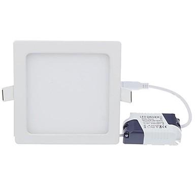 1PC 18 W 1620-1800 lm 90 الخرز LED سهولة التثبيت في فجوة أضواء اللوحات أضواء LED أبيض دافئ أبيض كول 85-265 V تجاري المنزل / مكتب المطبخ / بنفايات / CE
