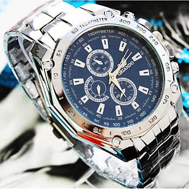 ieftine Ceasuri Damă-Bărbați Pentru cupluri Ceas Sport Ceas de Mână Quartz Argint / Auriu 30 m Ceas Casual Mare Dial Analog Casual Modă - Alb / Albastru Aur / alb Negru / Argintiu