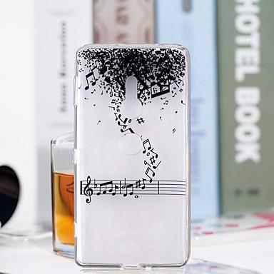 voordelige Hoesjes / covers voor Sony-hoesje Voor Sony Huawei P20 / Huawei P20 Pro / Huawei P20 lite Transparant / Patroon Achterkant Woord / tekst Zacht TPU