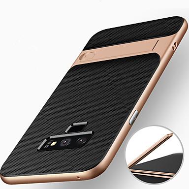 voordelige Galaxy Note-serie hoesjes / covers-hoesje Voor Samsung Galaxy Note 9 / Note 8 Schokbestendig / met standaard Achterkant Schild Hard PC