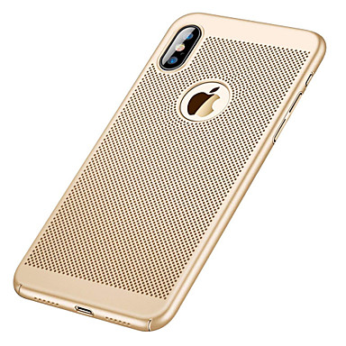 abordables Coques pour iPhone 5-Coque Pour Apple iPhone XR / iPhone XS Max Ultrafine Coque Couleur Pleine Dur PC pour iPhone XS / iPhone XR / iPhone XS Max