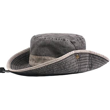 قبعة شمسية لون سادة رجالي أساسي